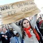 in piazza contro la crisi