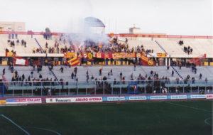 Un'altra immagine della trasferta a Catania nel campionato di C2 98/99